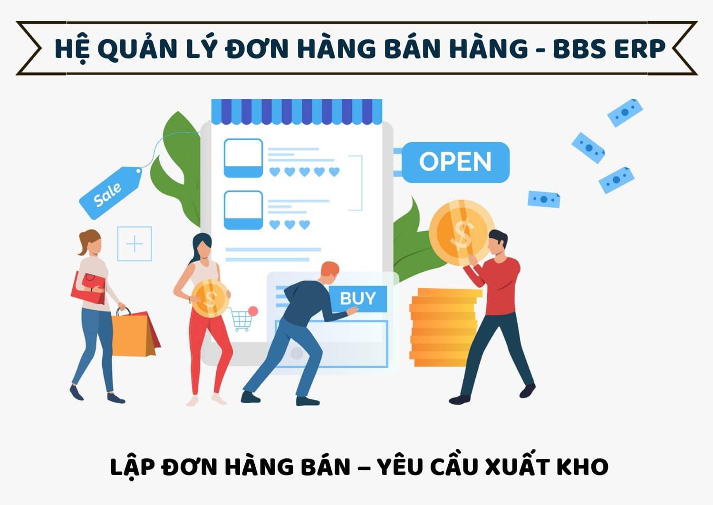 Hướng dẫn bán hàng BBS ERP